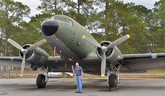 WWII Royalty (Chris Usrey) Tags: douglas ga airport p82 twin mustang restoration aviation flying