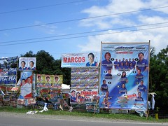 CAMPAIGN (PINOY PHOTOGRAPHER) Tags: maco compostela valley mindanao posters election philippines asia world