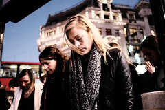 (samrodgers2) Tags: oxfordcircus londonstreetphotography colour londonlightandshade fujixpro2