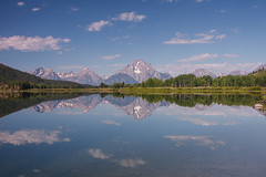 Calm Day in Grand Teton National Park (Jeffrey Sullivan) Tags: grand teton national park grandtetonnationalpark landscape nature travel photography wyoming unitedstates roadtrip usa canon photo copyright 2008 jeffsullivan mountains reflection cokin