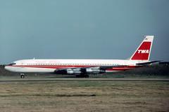N779TW Boeing 707-331B TWA Trans World Airlines (pslg05896) Tags: n779tw boeing707 twa transworldairlines lhr egll london heathrow