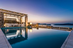 Admire the #beauty of the #island at Michaela Residence (bookingsantorini) Tags: santorini greece travel holiday hotel villa bookingsantorini greekisland cyclades vacation santorinihotels trip traveller aegean mediterranean travelgreece greek