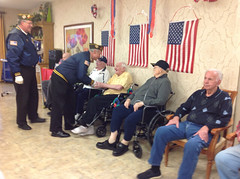Veterans Day at a Nursing Home