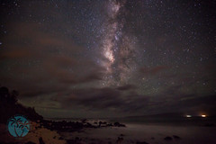 Big Beach Star Theatre (brandon.vincent) Tags: beach night way stars hawaii big long exposure space maui milky