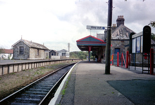 Bere Alston station (1), 1993