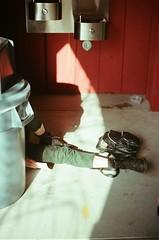obstruct (Alexandra Moskow) Tags: california santa light portrait film beach canon kodak ae1 leg cruz alexandra portra tannery moskow lifemarrow
