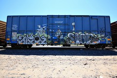 (o texano) Tags: sign by bench graffiti texas houston trains zee freights benching enyhs