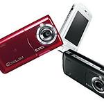 5Mピクセルカメラ携帯電話の写真