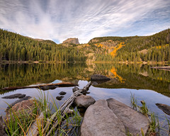 Bear Lake (PT Photo) Tags: autumn fall gold colorado pines aspens hdr rockymountainnationalpark bearlake sigma1020mm vertorama dphdr ptphoto lightroom5 pse12