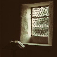 Guided by the light (S.R.Murphy) Tags: church window reading book flickr quiet peace religion peaceful indoor calm explore bible serene windowlight religiousicons eastyorkshire flickrexplore stleonardchurch speeton canon6d stuartmurphy nikanalogefexpro september2015