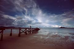 just a try (mohd alsulaiti) Tags: bridge sunset sun hot beach clouds canon lens thailand see google arabic explore arab thai  phuket qatar nationalgeographic natgeo  2015  qtr dohaqatar               5diii  mohdalsualiti   instagramenjoyqtr