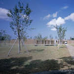 YKK75周年事業による地域貢献施設・桜の庭園の写真