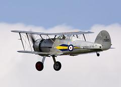 Gladiator (Bernie Condon) Tags: plane vintage flying fighter display aviation military airshow ww2 preserved shuttleworth raf biplane warplane gladiator gloster shuttleworthcollection oldwarden