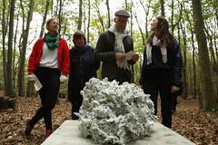 photoset: KOER: Mission W - Skulptur im Wienerwald (4.10.2015, Eröffnung)