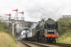 IMG_9456-92214 (Roger J Brown) Tags: road bridge autumn train october br no great central working steam minerals series brook standard railways gala 3rd 1000 loughborough 2100 beeches rothley 2015 92000 9f 92214