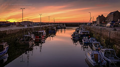 Harbour sunset... (moraypix) Tags: sunset boats burghead sunsetcolours sunsetharbour sunsetboats burgheadharbour moraypix moraypixphotography nikond750 nikon2485lens