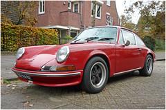 Porsche 912, 1969 (sereknivesphotography.blogspot.com) Tags: red automobile snapshot voiture licenseplate streetphoto spotted oldtimers classiccars vintagecars vintagevehicle kenteken klassieker gespot straatfoto oudeauto carspot ar9481
