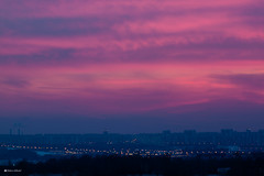 After sunset (Maksim Likhoded) Tags: sunset moscow outskirts riussia