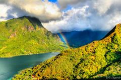Moorea in Polynesia (alinaflores9999) Tags: landscape polynesia rainbow pacific paysage 2008 pf moorea pacifique polynsie polynsiefranaise canoneosdigitalrebelxti lesduvent ilesparadisiaques