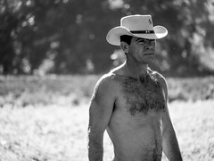 cowboys-3 (Picture Shed) Tags: hairy man hat cowboy chest cuba places topless vinales