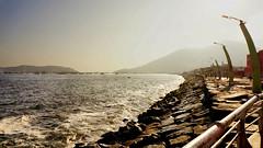 Chimbote - Ancash (jimmynilton) Tags: peru de atardecer mar malecon piedras chimbote anash