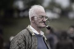 Smoke signals (Frank Fullard) Tags: street ireland portrait horse irish galway candid smoke pipe fair smoker ballinasloe pipesmoker horsefair fullard frankfullard