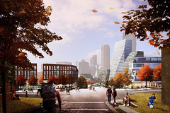 Проект обновления квартала Лоуэр Хилл в Питтсбурге от BIG