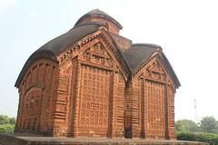 JOR-BANGLA TEMPLE (Esani (Nibedita)) Tags: architecture 18thcentury asi westbengal templearchitecture vishnupur westbengaltourism terracottatemple jorbanglatemple bengalstyle