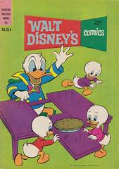 Walt Disney's Comics 354 (Vol. 30 / No. 8) (micky the pixel) Tags: comics comic heft waltdisney donaldduck hueydeweyandlouie ticktrickundtrack