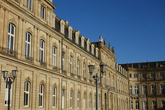 Neues Schloss - Stuttgart, Germany (Rodrigo P.C.) Tags: travel germany europa europe stuttgart viagem alemanha estugarda