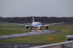G-TUIC (andy_66725) Tags: newcastle airport aircraft aviation flight jet thomson boeing runway ncl 787 dreammaker dreamliner 7878 egnt gtuic