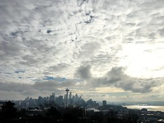 Seattle skies.