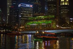 Marina Bay Singapore Countdown 2016 - Cruise (gintks) Tags: singapore celebration projection singapur jubileebridge marinabay onefullerton exploresingapore singaporetourismboard sg50 yoursingapore 20152016 lightedfacade gintaygintks