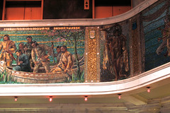 Chicago architecture (Molly Des Jardin) Tags: usa chicago architecture buildings tile illinois mural tour native mosaic interior indian nativeamerican american americanindian 2015 earlyamerica 43215mm