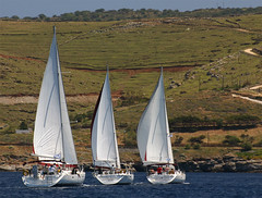 Lavrio-flotilla (Aproache2012) Tags: navegar mediterraneo cicladas peloponeso flotilla familar nios vacaciones relax