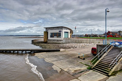 Lifeboat station at Morecambe, Lancashire (Baz Richardson (now away for a few days)) Tags: lancashire morecambe rnlistation lifeboatstation coast beach seaside