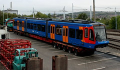 Stagecoach Supertram 399205, Nunnery Square 27/09/16 (TC60054) Tags: 399205 399 stagecoach supertram rotherham sheffield stadler vossloh citylink tram train light rail tramtrain 205