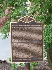20151014 21 Head of Christiana Presbyterian Church, Newark, Delaware (davidwilson1949) Tags: maryland newark headofchristianapresbyterianchurch presbyterianchurch