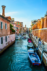 Venice Streets (Roman yczkowski) Tags: italy travel street chanel venice traveller streets boat architecture culture medieval europe river water sea sky love city cityscape view boats vacation wow