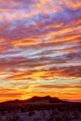 Desert Dawn (splinx1) Tags: dawn earlylight pentaxart sky cloud desert butte california hdr hss
