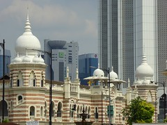 Happy Friday ! / Jamek Mosque in Kuala Lumpur, Malaysia (Frans.Sellies) Tags: p1140033 malaysia kualalumpur mosque moschee moskee