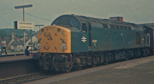 40006 Llandudno Junction 24th July 1982.