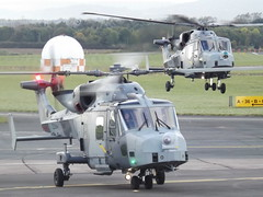 ZZ383/ZZ384 Lynx Wildcats Helicopters (Aircaft @ Gloucestershire Airport By James) Tags: gloucestershire airport zz383 zz384 wildcats helicopters egbj james lloyds