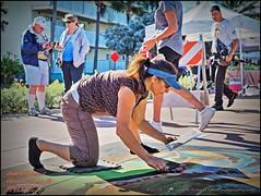 2016-10-23_PA230157_Chalk Art Festival,Clwtr Bch,Fl (robertlesterphotography) Tags: 12x4040x150 bal chalkfestivalclearwaterbeach clearwaterbeachfl events lighteff50 m1 oct232016 outandaround photom toncomp100