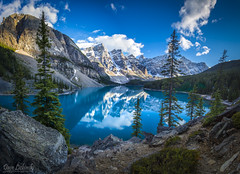 Moraine Lake - Banff Canada (DLizbinski) Tags: