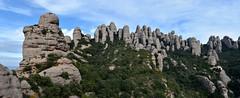Panormica de la Regi d'Agulles 1 (Xevi V) Tags: regidagullesdemontserrat montserrat isiplou panorama view landscape serraladaprelitoralcatalana agullesdemontserrat regidagulles
