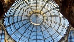 Un tondo perfetto...ma non  la O di Giotto!! (explored 18/10/16) (magister111) Tags: milano galleria italy architettura