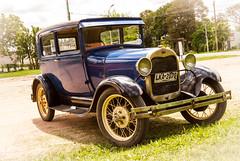Ford azul (Fernandolunad) Tags: colonia uruguay automovil car antiguo old vintage portrait blue retrato azul vehculo auto
