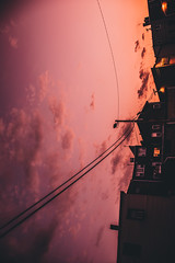 @FYABRIANSCOTT (fya_brianscott) Tags: city urban sunset beauty beautiful time summer mood feeling free freedom nikon world earth sku clouds color vibrant vivid bright silhouette architecture home building nj