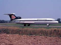 G-ARPX Trident 1C (Irish251) Tags: garpx trident 1c hs121 hawker siddeley trn turin caselle airport italy italia ba baw british airways bea livery speedjack